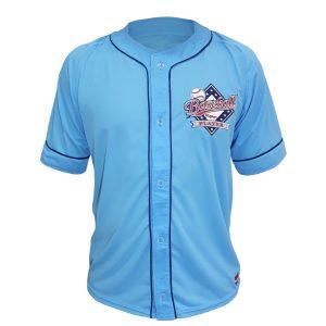 "Baseball Jersey ""Baseball Player"" – Azul Celeste"