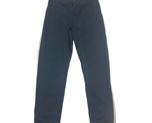 47c401acc Calça de Beisebol Azul Marinho (friso branco)