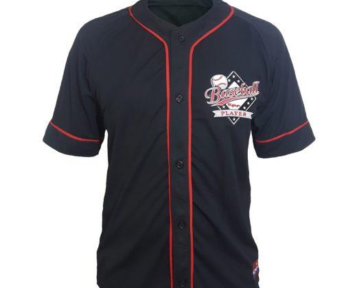 93ebb6821c03f Promoção! camisa baseball player preta frente