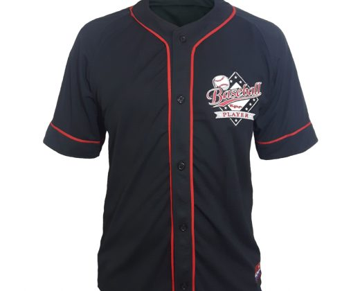 "Baseball Jersey ""Baseball Player"" – Preta f4a6f882e0d"