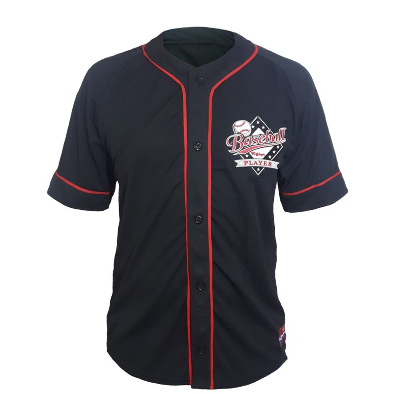 camisa baseball player preta frente