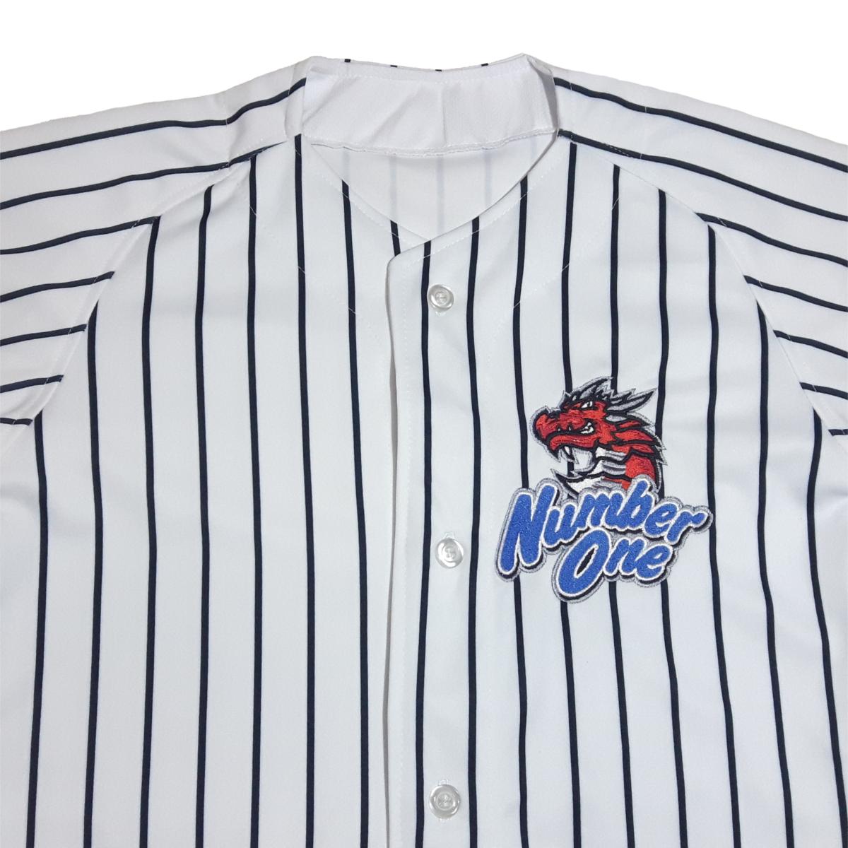 3b108d938b9a6 Baseball Jersey Fujiya Number One - Listrada • Esporte Fujiya