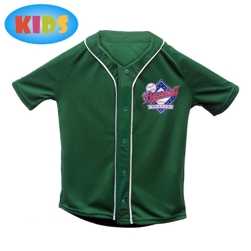 CAMISA_JERSEY_verde_bandeira_Kids_Frente